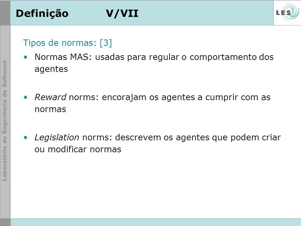 Definição V/VII Tipos de normas: [3]